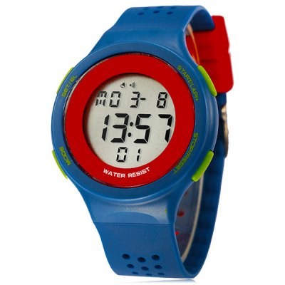 ФОТО Synoke LED Sports Watch Day Date Alarm Display Water Resistance