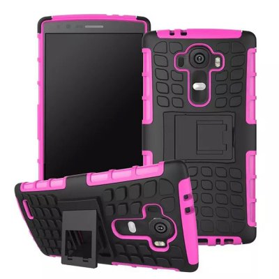 TPU and PC Material Back Cover Case for LG G4