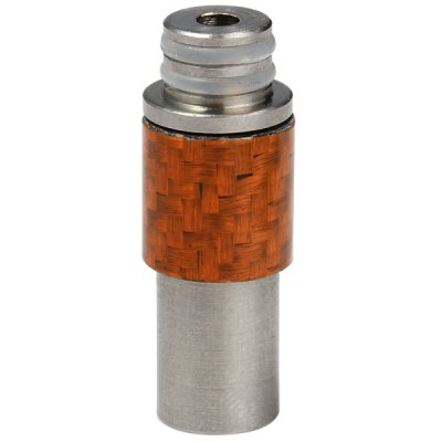 ФОТО Stainless Steel + Carbon Fiber Material E - Cigarette Drip Tip