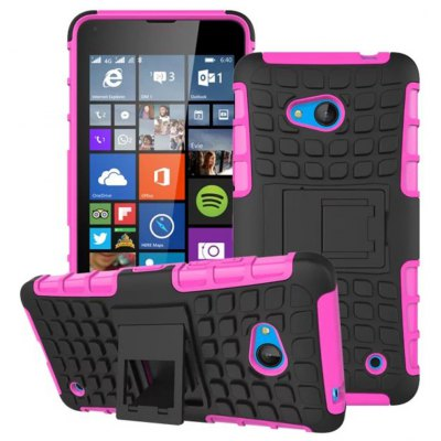 TPU and PC Material Back Cover Case for Microsoft Lumia 640