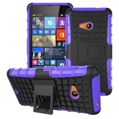 TPU and PC Material Back Cover Case for Microsoft Lumia 535