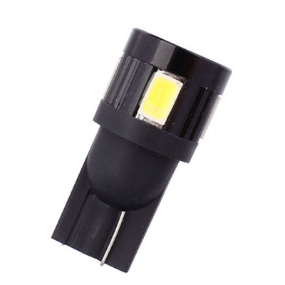 Фотография MZ T10 3W 144 Lumens 6 x SMD 5630 LED White Light Car Lamp