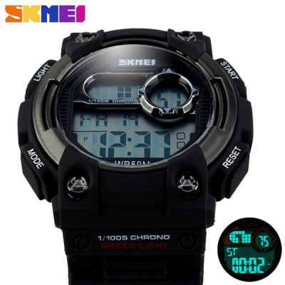 Skmei 1054 Army Military LED Watch Water Resistant for Outdoor Sports