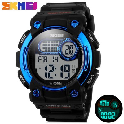 Skmei 1054 Outdoor Sports LED Military Watch