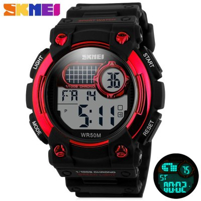 Гаджет   Skmei 1054 Army Military LED Watch Water Resistant for Outdoor Sports Sports Watches