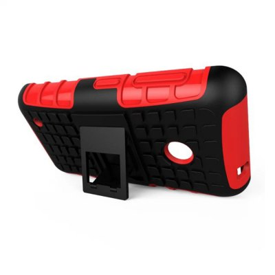 Фотография Stand Design TPU and PC Material Tire Pattern Protective Back Cover Case for Nokia Lumia 530