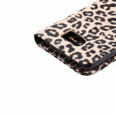 Фотография PU and PC Material Leopard Print Pattern Protective Cover Case for Samsung Galaxy S6 G9200