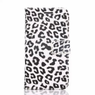 ФОТО PU and PC Material Leopard Print Pattern Protective Cover Case for Samsung Galaxy S6 G9200