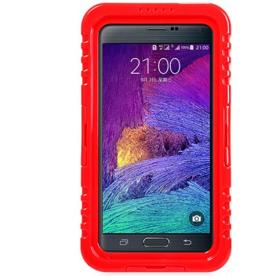 Фотография Practical Transparent Waterproof Plastic and Silicone Protective Case for Samsung Galaxy Note 4 N9100