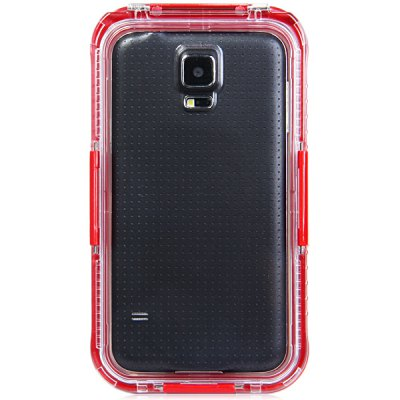 Фотография Practical Transparent Waterproof Plastic and Silicone Protective Case for Samsung Galaxy S5 i9600 SM - G900