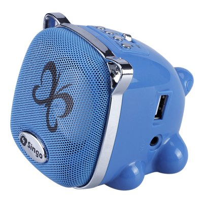 Aoluguya G8 Mini Cartoon Style Speaker with FM Function Support TF Card