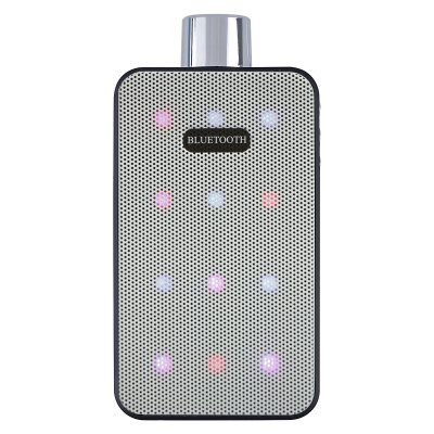 ФОТО Aoluguya XD  -  R100 Perfume Bottle Style LED Colorful Light Bluetooth 3.0 Speaker with FM Function