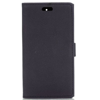 ФОТО Stand Design Gravel Pattern Protective Cover Case of PU and PC Material for BlackBerry Z3