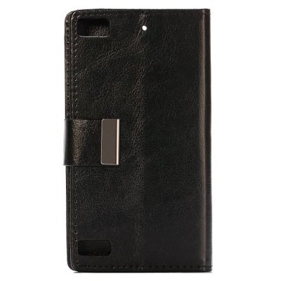 Фотография Stand Design Crystal Grain Pattern Protective Cover Case of PU and PC Material for BlackBerry Z3