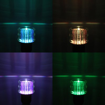 YouOKLight RGB E27 3W Remote Controlled Crystal Ball Light with Clear Shade