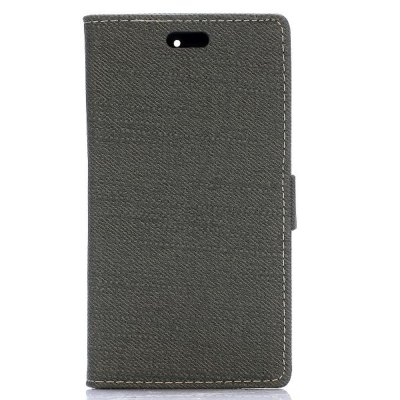 ФОТО Stand Design Cloth Texture Style Protective Cover Case of PU and PC Material for BlackBerry Z3