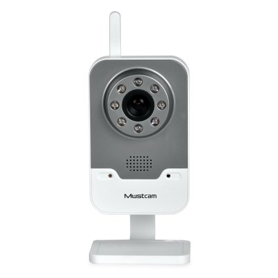 Mustcam H816P 720P 1.0MP WiFi Wireless IP Camera with Motion Detection for Home Security