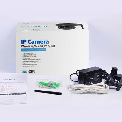 Фотография Mustcam H816P 720P 1.0MP WiFi Wireless IP Camera with Motion Detection for Home Security