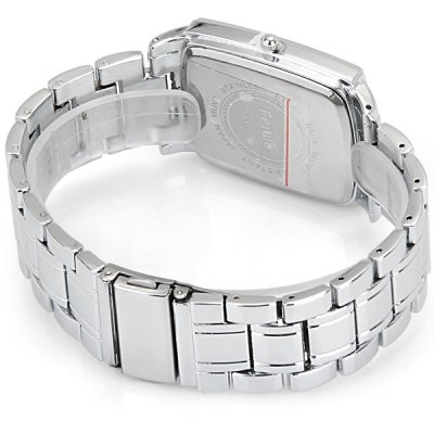 Фотография Feiwo 8149 Male Quartz Watch Stainless Steel Band Rectangle Dial