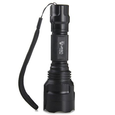 Фотография UltraFire C8 CREE XM  -  L T6 5 Modes Water - resistant Red Laser LED Flashlight