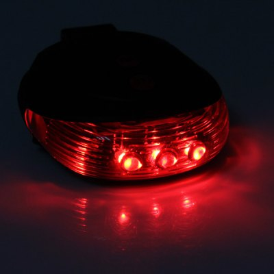 Фотография SL  -  116 5mw LED Laser Tail Light for Bicycle Outdoor Safe Perimeter