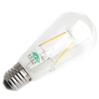 Фотография Zweihnder E27 2W 180Lm 2700  -  3000K Retro Pendant Tungsten Filament Bulb Light