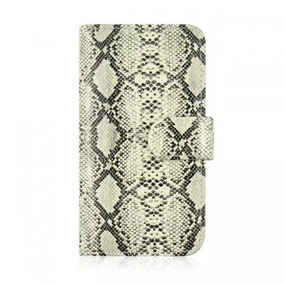 Гаджет   Stand Design Snake Skin Pattern Protective Cover Case of PU and PC Material for Samsung Galaxy S6 G9200 Samsung Cases/Covers