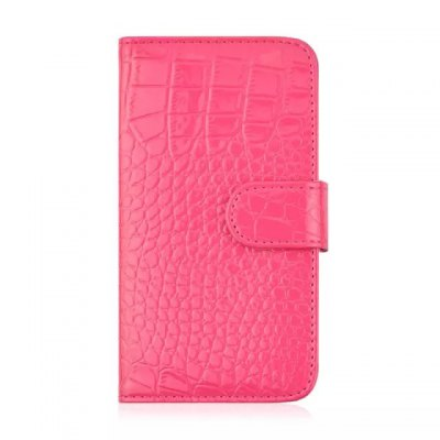 ФОТО Stand Design Crocodile Pattern Protective Cover Case of PU and PC Material for Samsung Galaxy S6 G9200