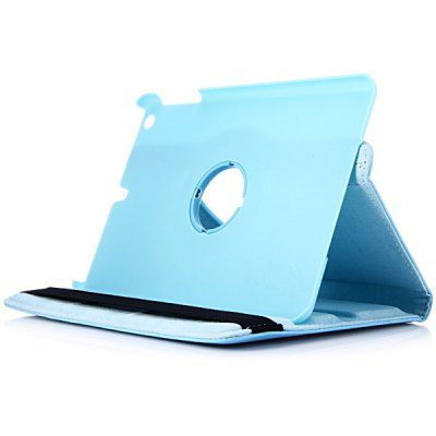 Фотография PU + PC Protective Cover Case Rotating Skin with Stand Function for iPad Mini 1 / 2 / 3