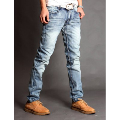 Slimming Zipper Fly PU Leather Embellished Pocket Bleach Wash Straight Leg Mens JeansMens Pants<br>Slimming Zipper Fly PU Leather Embellished Pocket Bleach Wash Straight Leg Mens Jeans<br><br>Material: Faux Leather, Jeans, Cotton<br>Pant Length: Long Pants<br>Wash: Medium<br>Fit Type: Regular<br>Waist Type: Low<br>Closure Type: Zipper Fly<br>Weight: 0.680KG<br>Pant Style: Straight<br>Package Contents: 1 x Jeans