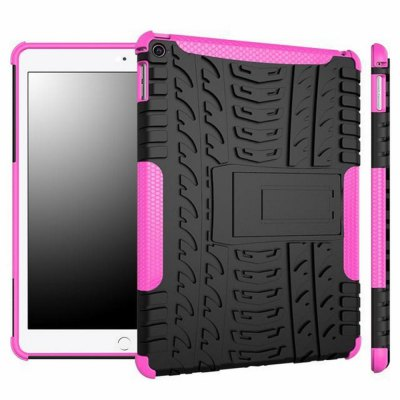 Stand Design TPU and PC Material Protective Back Cover Case for iPad Air 2