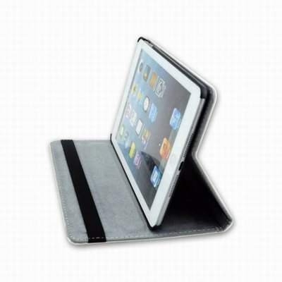 Гаджет   Fashion Girl Pattern PC and PU Material Cover Case with Stand and Elastic Belt Design for iPad mini iPad Cases/Covers