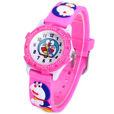 Doraemon Pattern Kids Quartz Watch