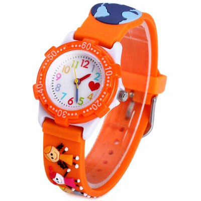 Children Litter Friends Quartz Watch