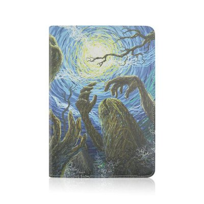 Гаджет   Stand Design Halloween Element Pattern Cover Case of PU and PC Material for iPad 3 iPad Cases/Covers