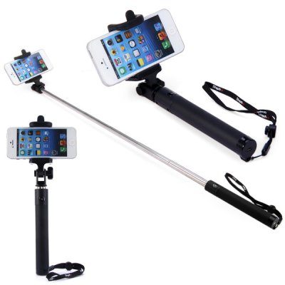 Bluetooth Remote Control Self Timer Camera Monopod with Clip Stand