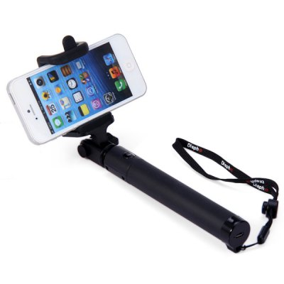 Фотография Bluetooth Wireless RC Self Timer Stretch Camera Monopod with 270 Degrees Rotating Clip Stand