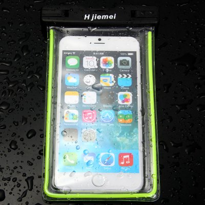 Фотография Hjiemei Screen Touch Waterproof Pouch for iPhone 6S 6 Plus 5 5S MIUI Samsung etc.