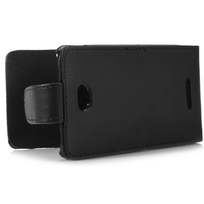 Фотография PU Leather Material Vertical Flip Case for Sony E4