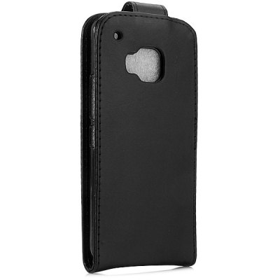 PU Leather Material Vertical Flip Case for HTC M9