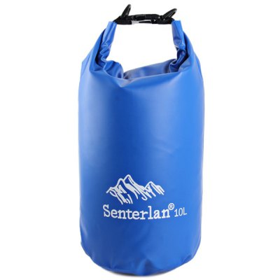 Santerlan 10L Water Resistant Bag PVC Saddlebag Pack