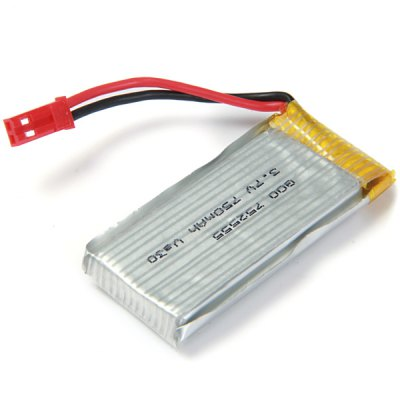 ФОТО Spare 3.7V 750mAh LiPo Battery Fitting for JJRC H12C H12W H12W - A RC Quadcopter
