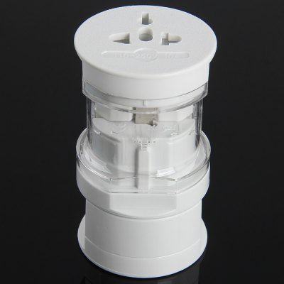 CY PW  -  094 All in One International Adapter Cylinder Type with EU AU UK US Plug
