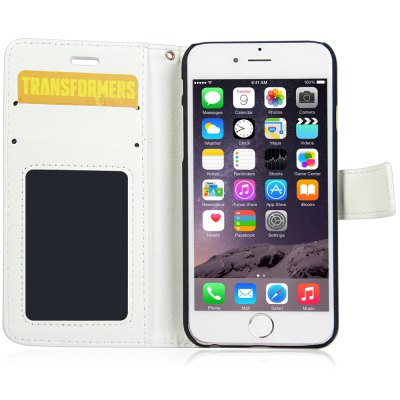 Фотография Crazy Horse Texture Style Cover Case with Photo Frame Credit Card Holder Stand for iPhone 6  -  4.7 inches