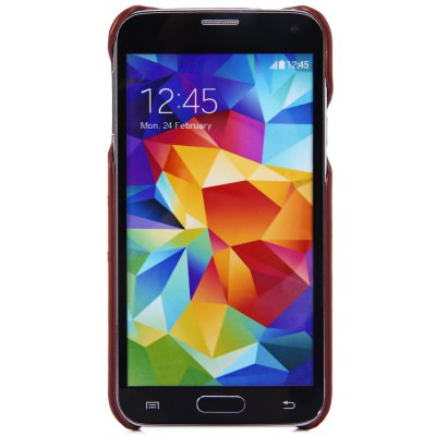 ФОТО Practical Card Holder Design PU Material Back Cover Case for Samsung Galaxy S5 i9600 SM - G900
