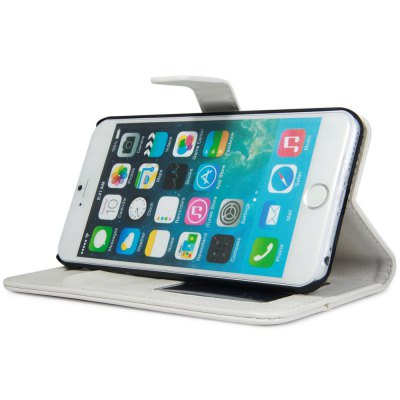 Фотография Crazy Horse Texture Style Cover Case with Photo Frame Credit Card Holder Stand for  iPhone 6 Plus  -  5.5 inches