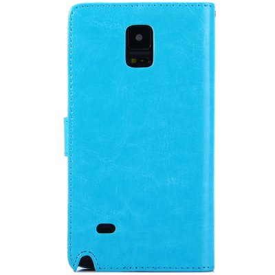 ФОТО Practical PU and PC Material Magnetic Snap Design Cover Case for Samsung Galaxy Note 4 N9100
