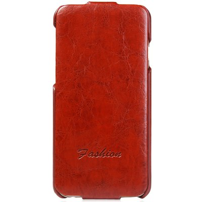 Vertiacal Flip Phone Protective Cover Case with PU Leather PC Material for iPhone 6 6S 4.7 inches
