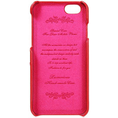 Litchi Pattern Style Back Cover Case with Credit Card Holder for iPhone 6 6S 4.7 inches