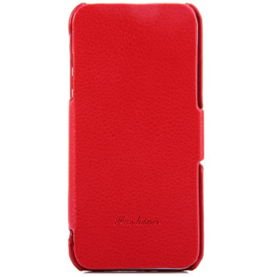 ФОТО Litchi Pattern Style PU Material Protective Cover Case for iPhone 5 5S